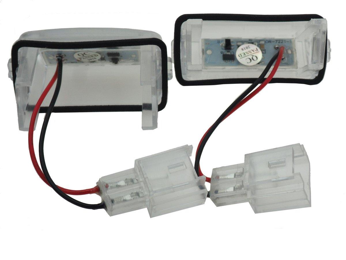Peugeot 307 Sw 308 Sw Lampki Led Podświetlenie Rejestracji