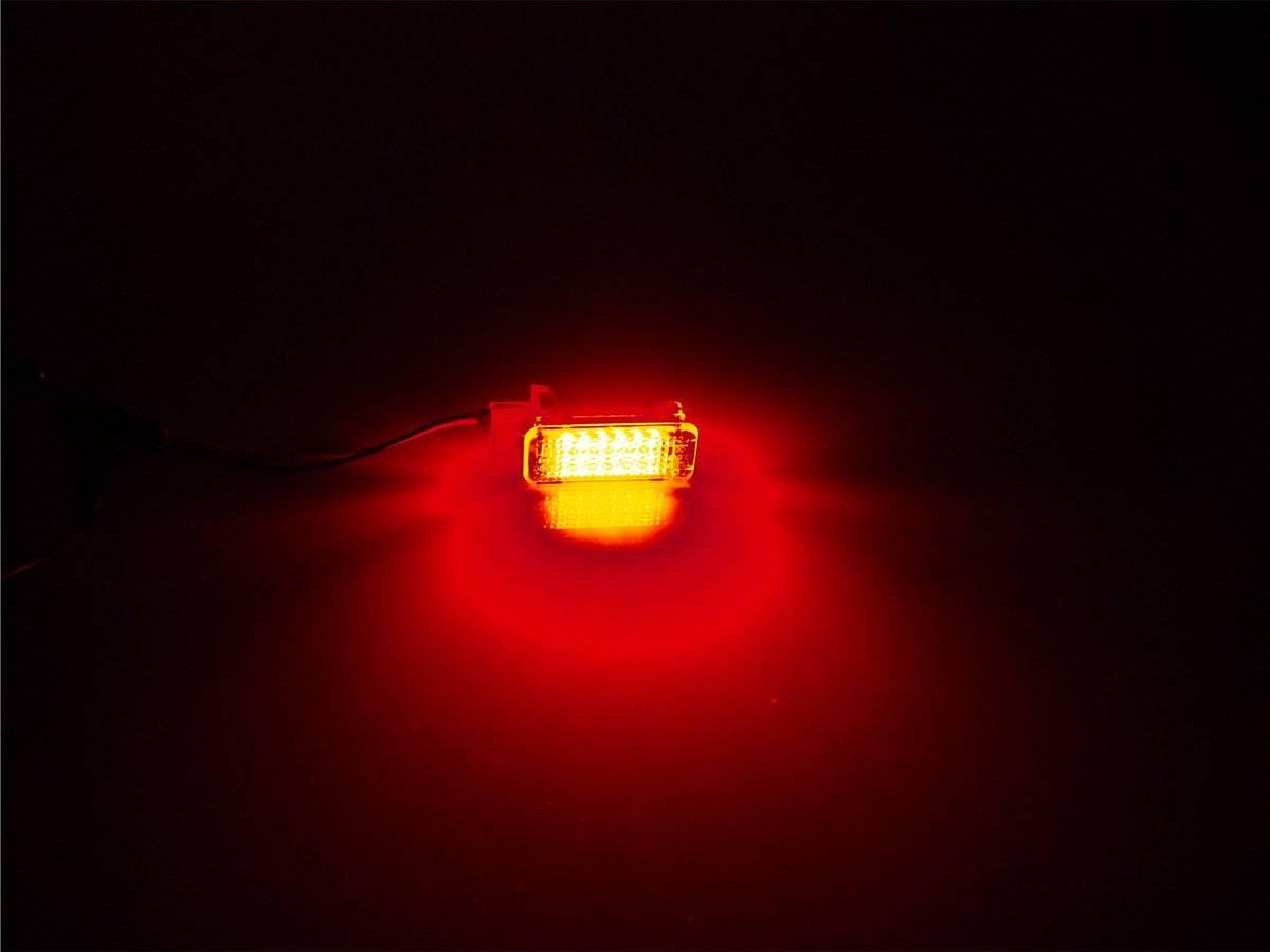 Vw Transporter Sharan Czerwona Lampka Led Wnętrza